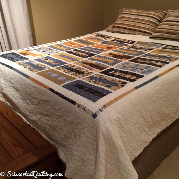 photo of Modern Rectangles Quilt