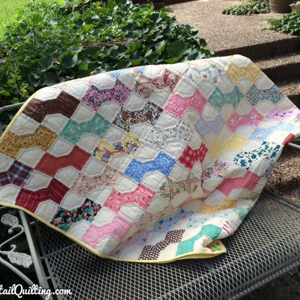 Photo of Antique Bow Tie Quilt