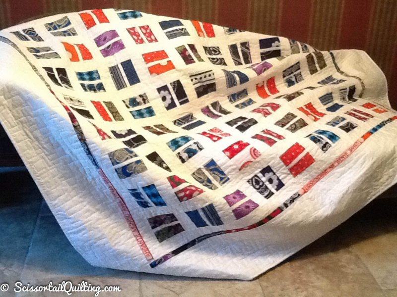 Photo of Custom Quilt made with African fabrics