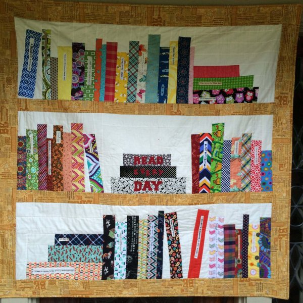 Photo of Read Every Day BookCase Quilt