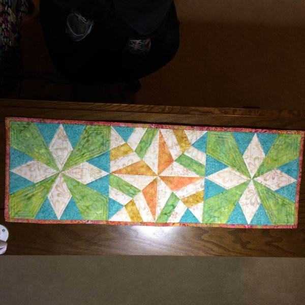 Photo of Paper Pieced Table Runner