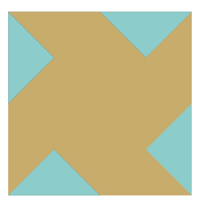 Image of Whirlwind Quilt Block