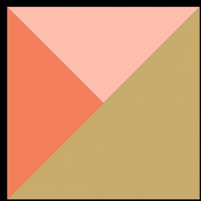 Illustration of the Y Quilt Block Unit