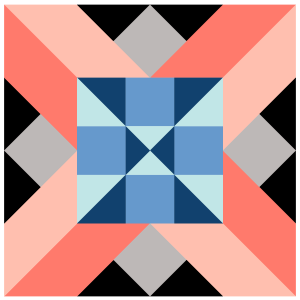Image of Alaska Quilt Block