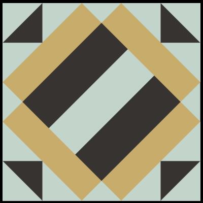 Image of Exploded version of Album Quilt Block