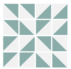 Image of the Expldsed version of the Annie's Choice Quilt Block