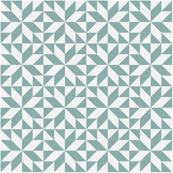 Illustration of a group of the Annie's Choice Quilt Block