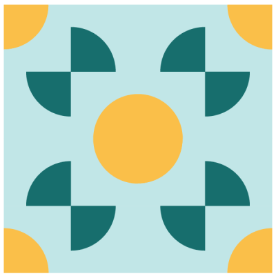 Image of the Around the World Quilt Block