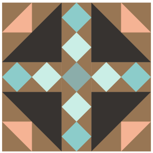 Image of Bird's Nest Quilt Block
