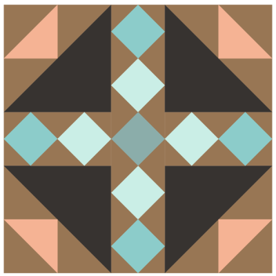 Image of Bird's Nest Quilt Block