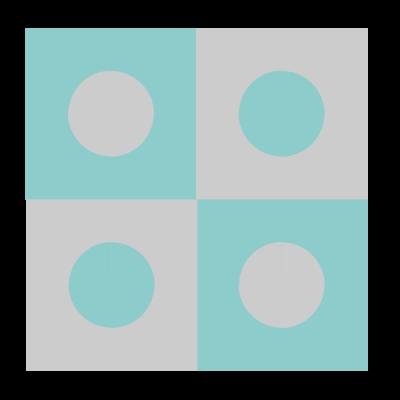 Image of Polka Dot Quilt Block