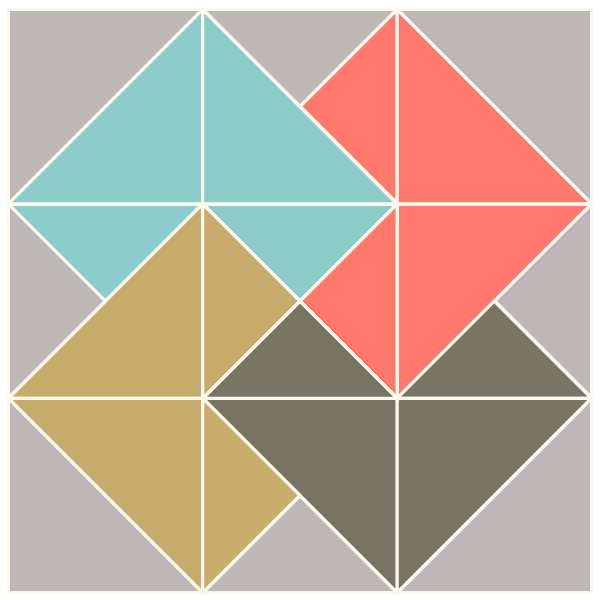 Card Trick Quilt Block | Scissortail Quilting : card trick quilt block - Adamdwight.com