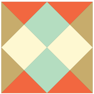 Image of The Checkerboard Quilt Block
