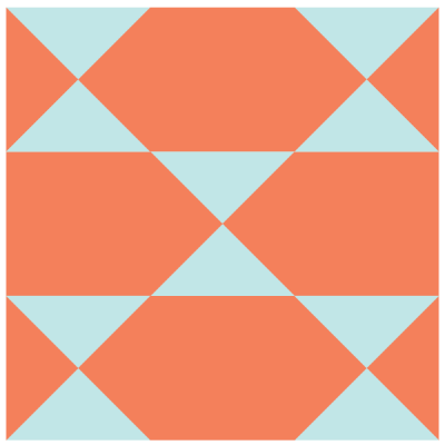 Image of The Clown's Choice Quilt Block