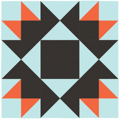 Image of Darting Bird Quilt Block Grouping