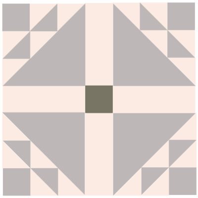 Image of Dove in a Window Quilt Block
