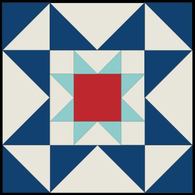 Image of Eight Hands Around Quilt Block