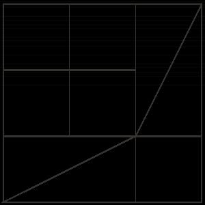 outlined illustration of flutterby quilt block