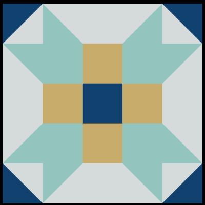 Image of Fool's Square Quilt Block