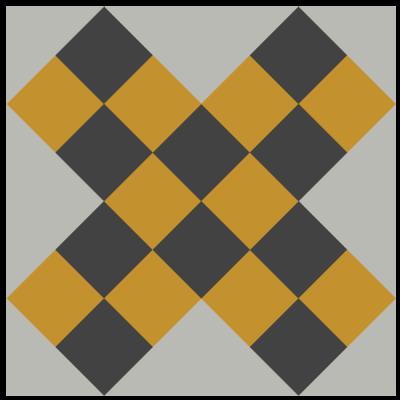 Image of Grandmother's Cross Quilt Block