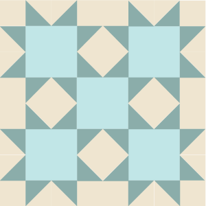 Image of The Idaho Beauty Quilt Block