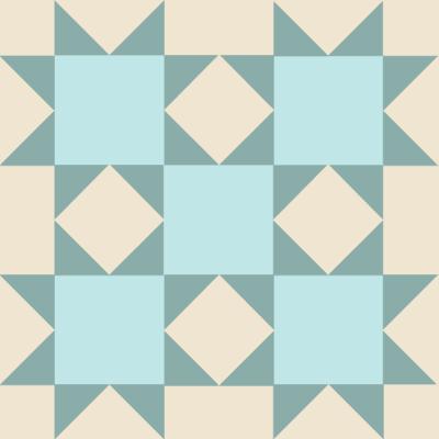 Image of The Idaho Beauty Quilt Block