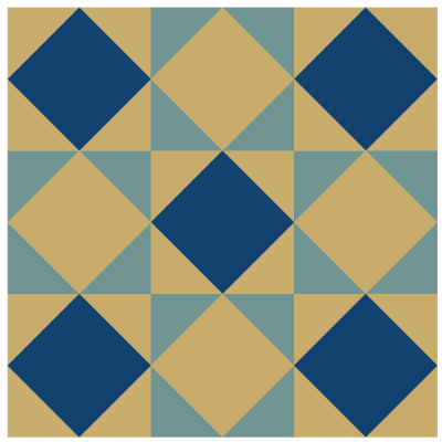 Image of The Kansas Star Quilt Block