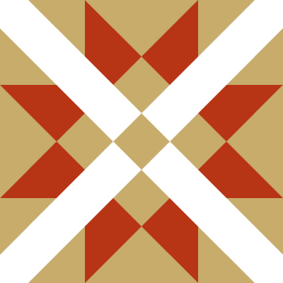 Illustration of the Mexican Cross Quilt Block