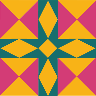 Illustration of the Minnesota Quilt Block