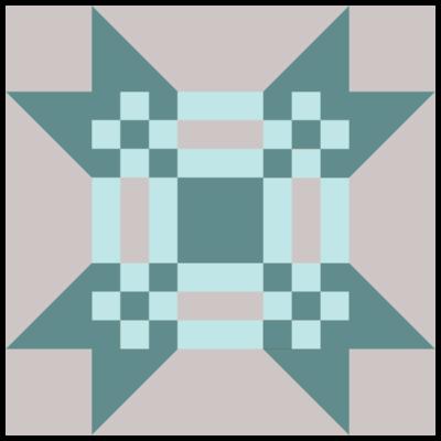 Image of Missouri Puzzle Quilt Block