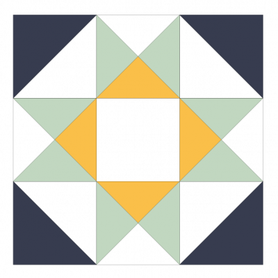 Image of The Star Variation Quilt Block