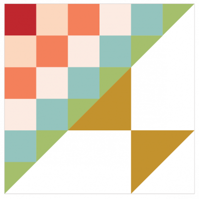 Image of Steps to the Altar Quilt Block