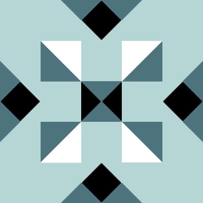 Illustration of the Alaska Territory Quilt Block