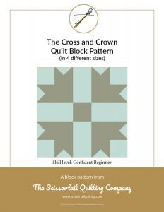 Click to download Cross and Crown Pattern