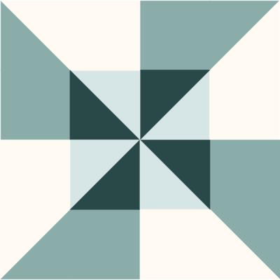 Illustration of the Double Pinwheel Quilt Block
