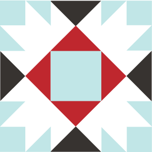 Image of the Union Square Quilt Block