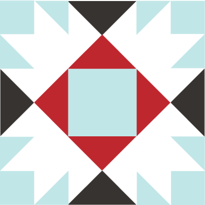 Image of the Union Square Quilt Block