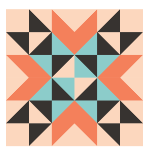 Image of the Wyoming Valley Quilt Block