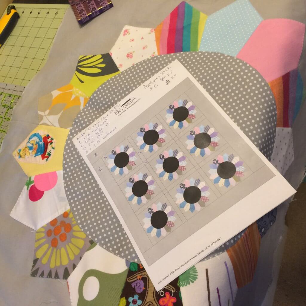 Custom baby clothes quilt pattern
