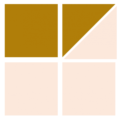 Illustration of Exploded version of Jewel Quilt Block