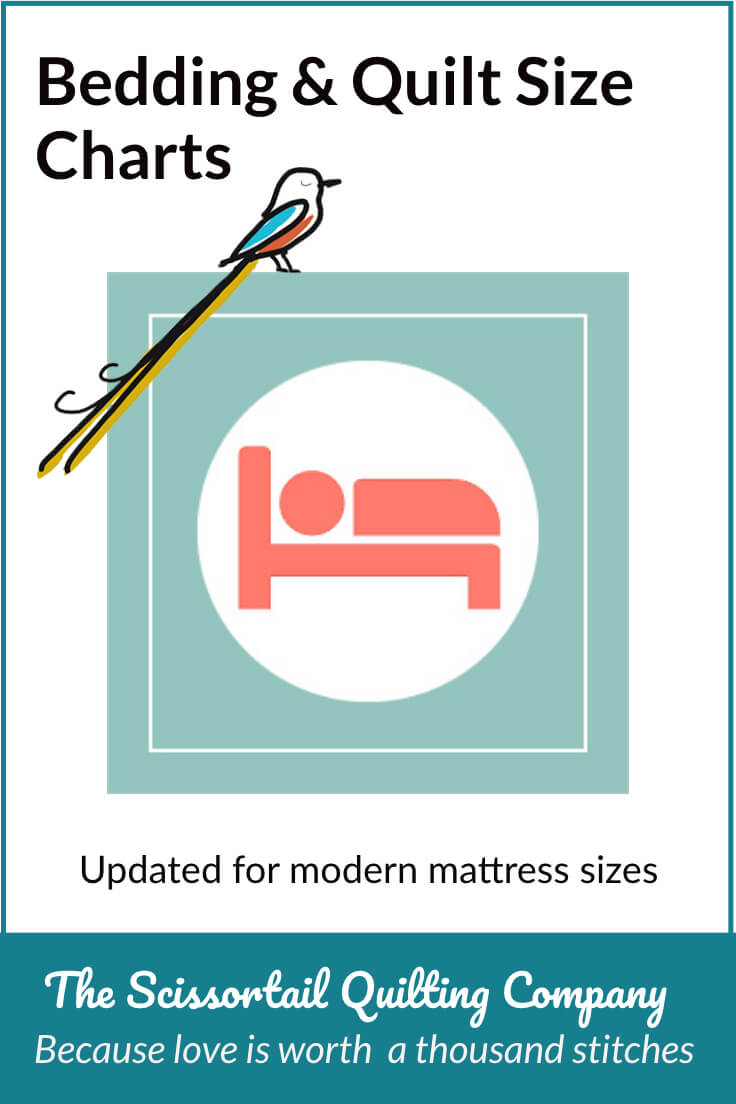 Pinnable Image for Bedding Size Charts
