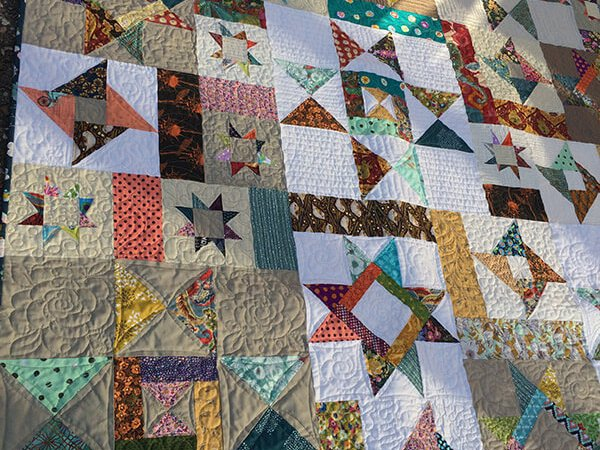 Image of Starfall Quilt Scissortail Quilting