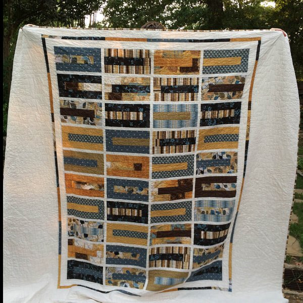 Photo of Modern Rectangle quilt