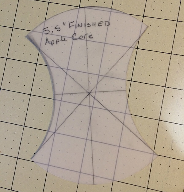 Photo of Final Apple Core Template
