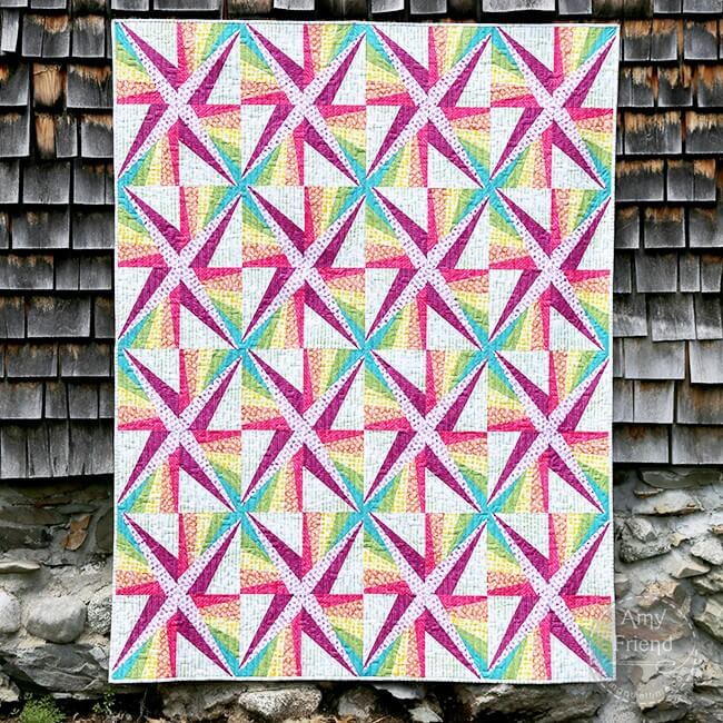 Magic Spark Quilt Pattern by Amy Friend