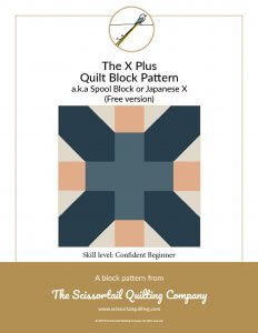 Image of X Plus Block Pattern Cover