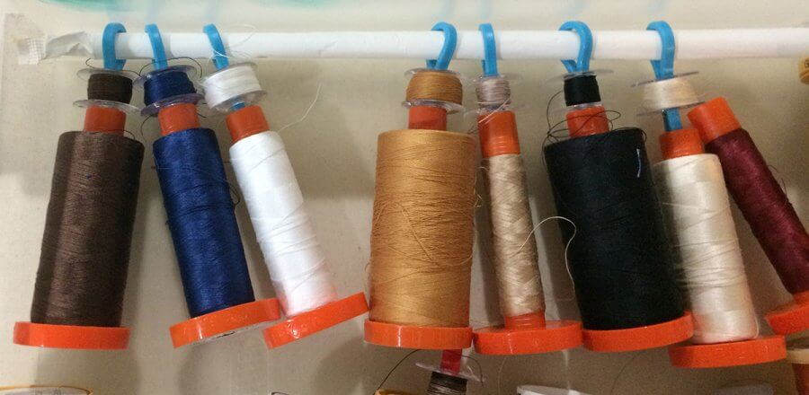 photo of aurifil quilting thread