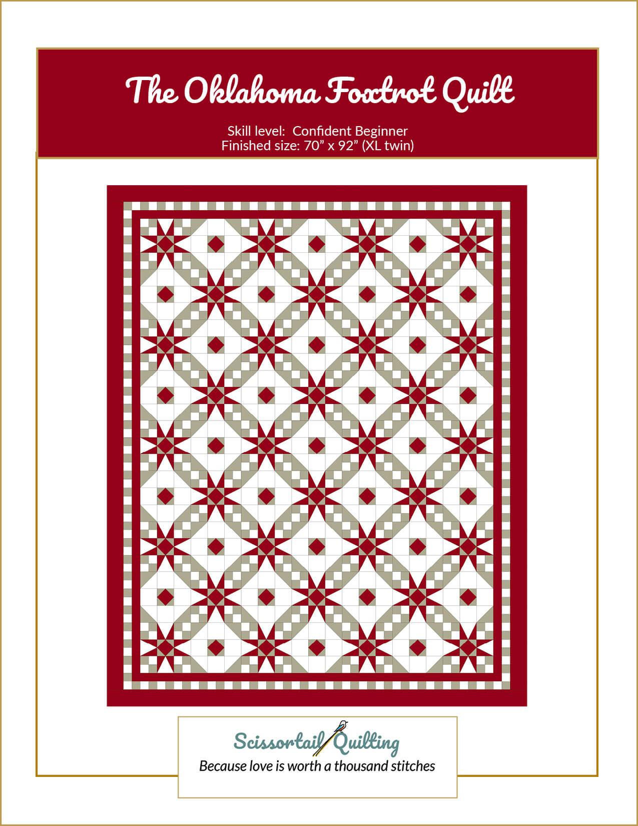Cover image for Oklahoma Foxtrot Pattern