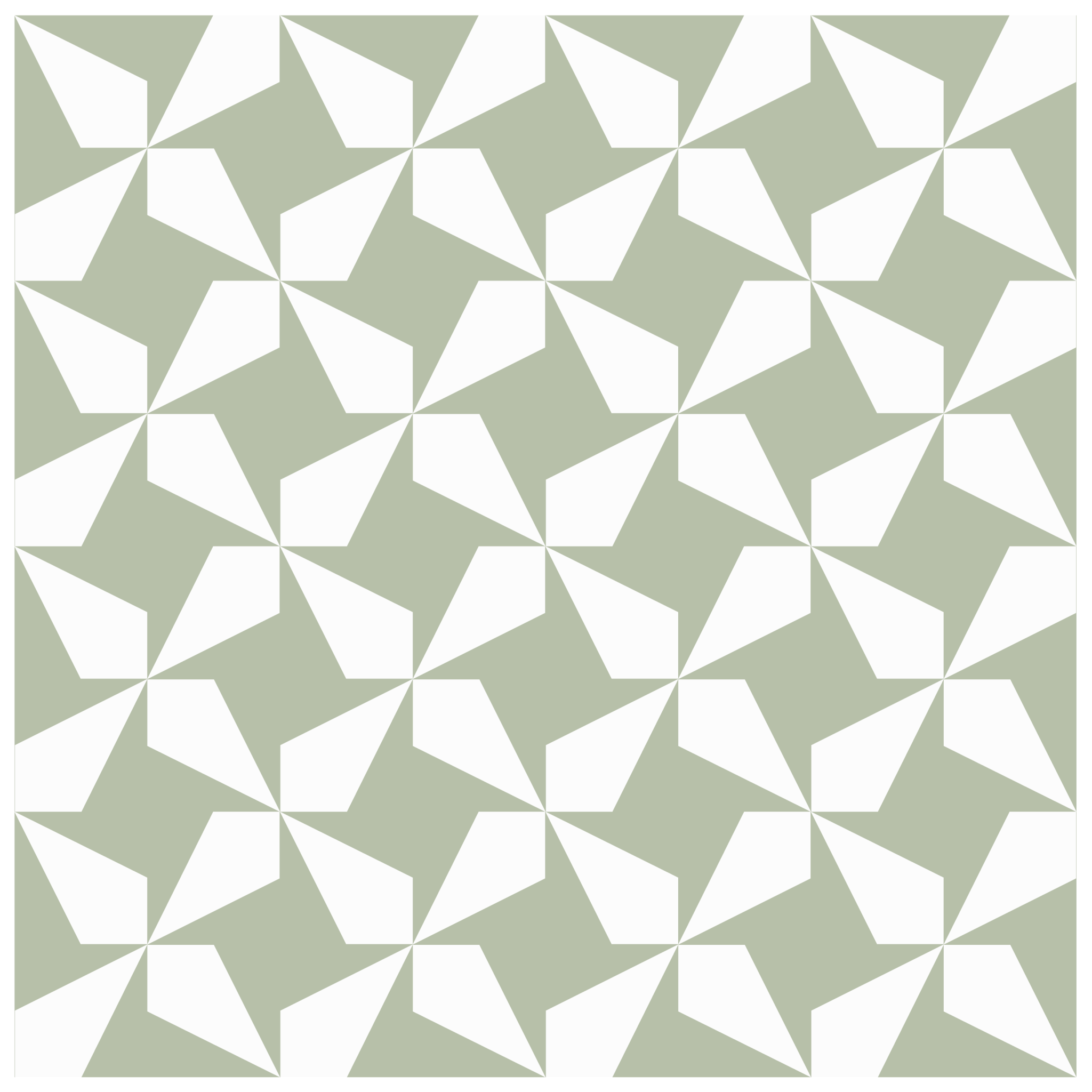 an illustration of a possible arrangment of corner beam quilt block units