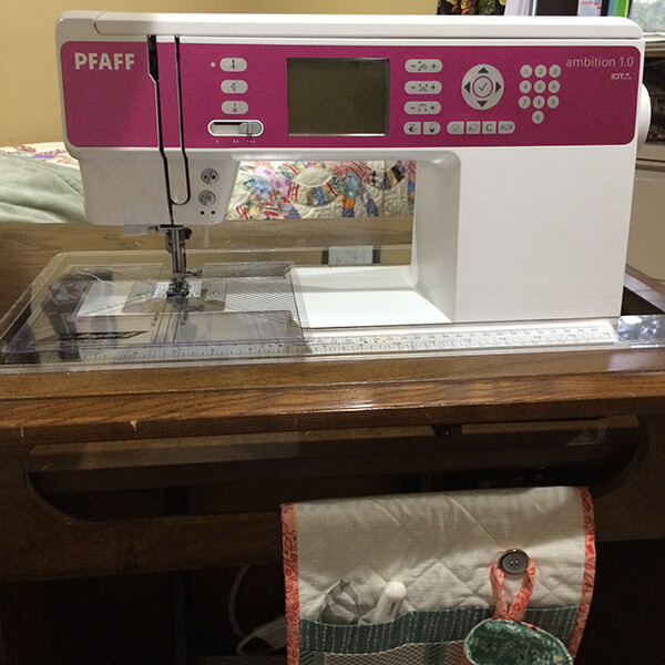 Photo of a sewing machine